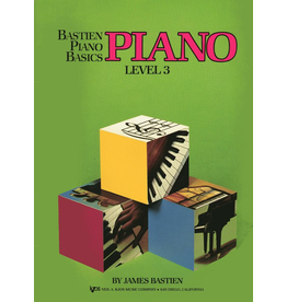 Kjos Bastien Piano Basics, Piano Level 3