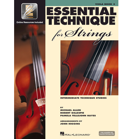 Hal Leonard Essential Technique for Strings, Viola Book 3