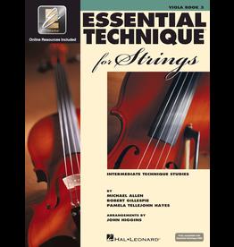 Hal Leonard Essential Technique for Strings, Viola Book 3