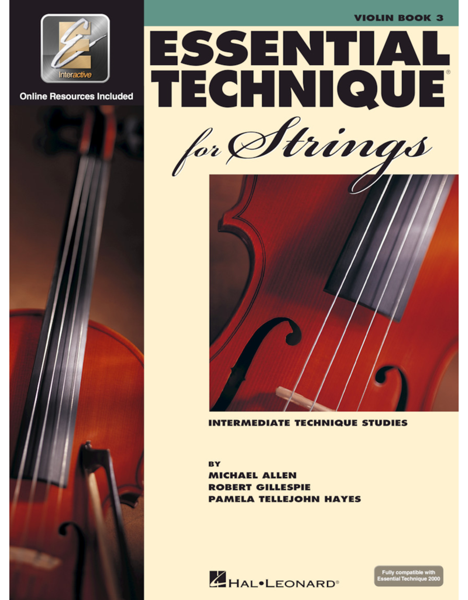 Hal Leonard Essential Technique Book 3 Violin