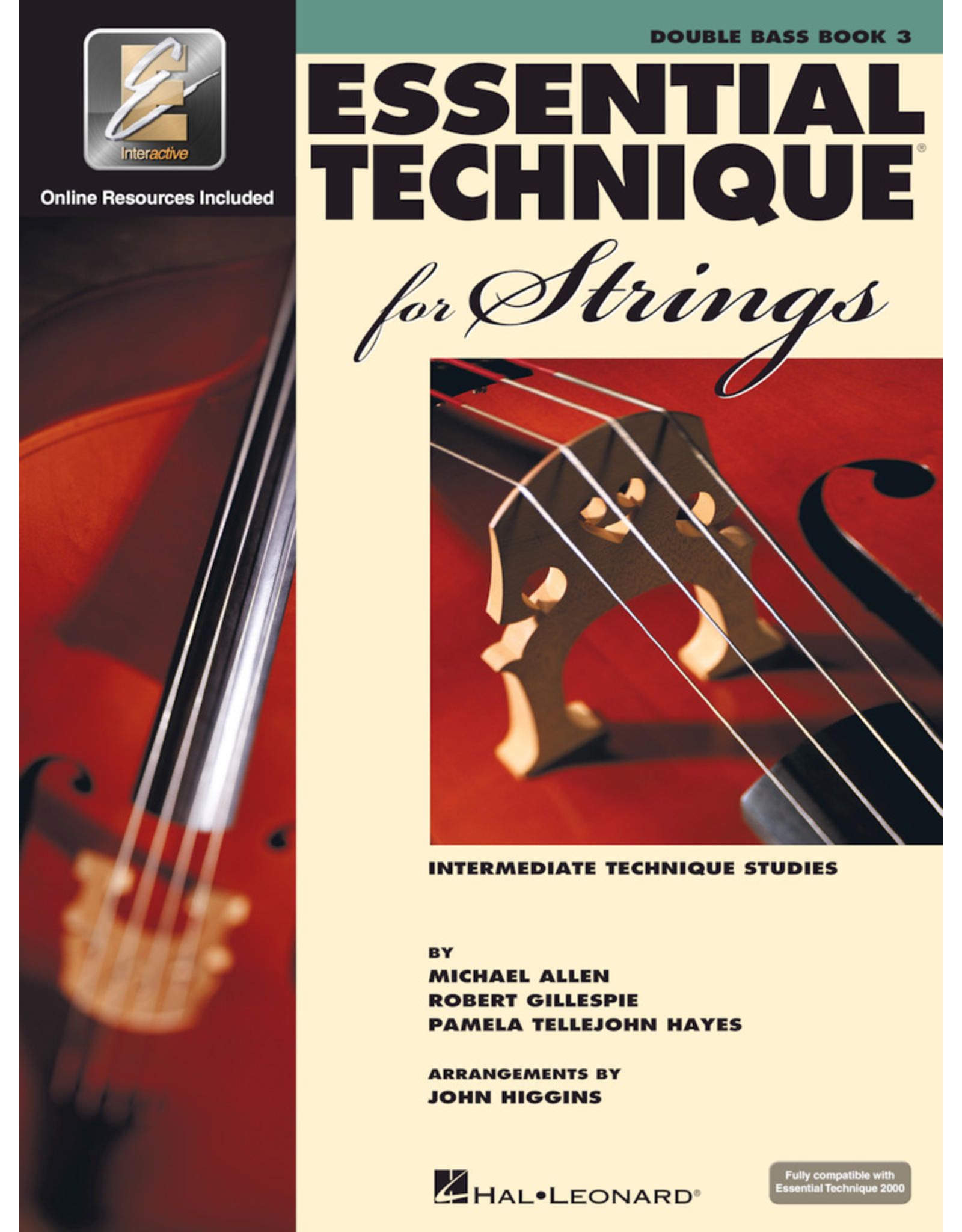 Hal Leonard Essential Technique Book 3 Double Bass