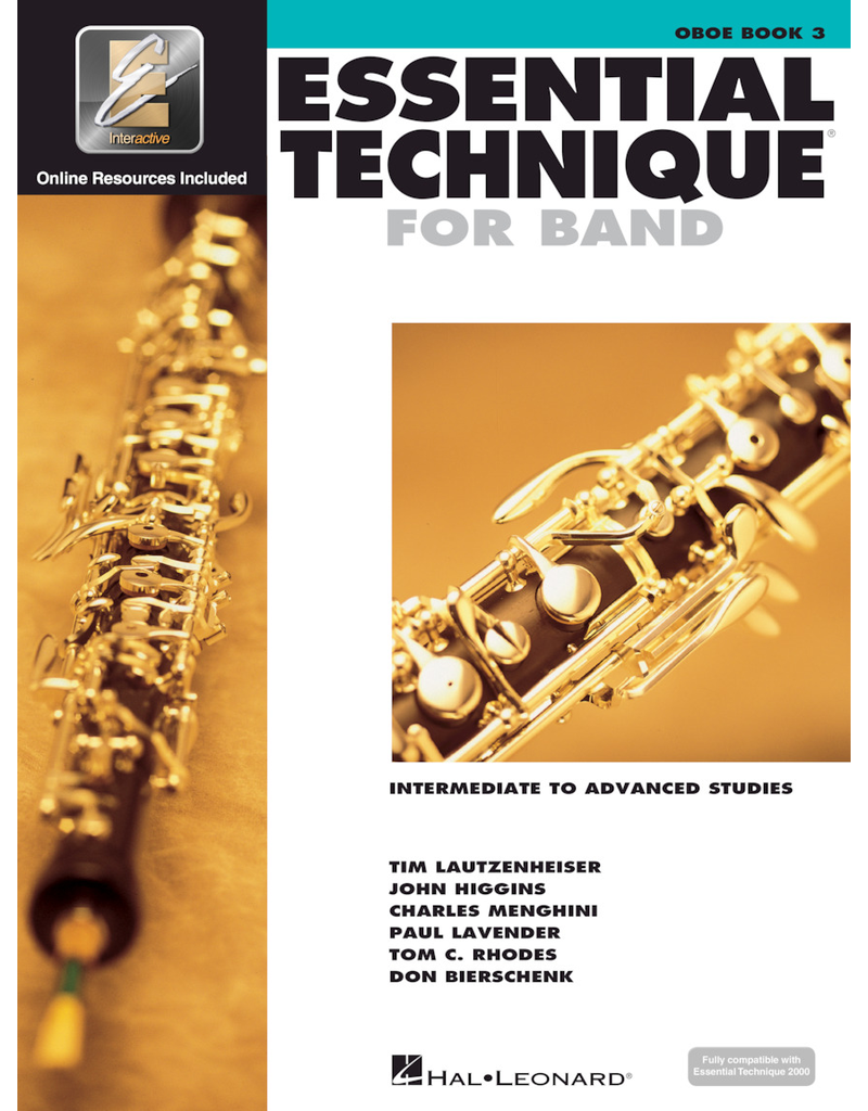 Hal Leonard Essential Technique Book 3 Oboe