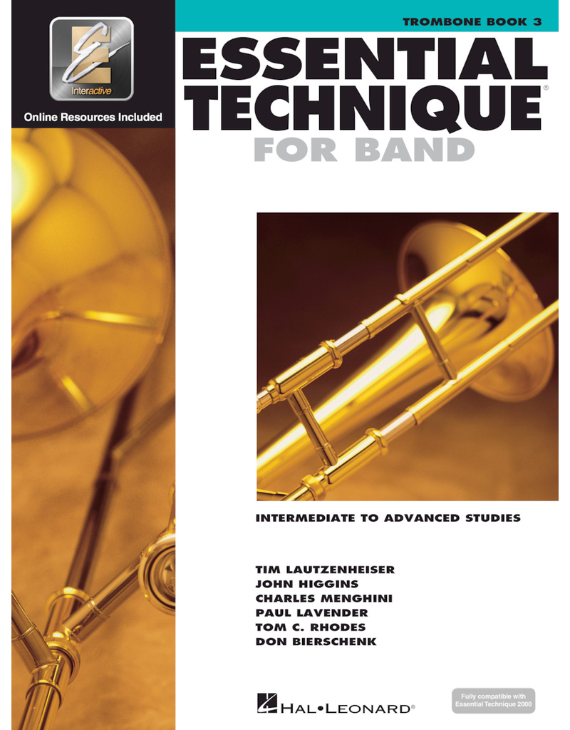 Hal Leonard Essential Technique Book 3 Trombone