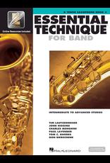 Hal Leonard Essential Technique Book 3 Tenor Sax