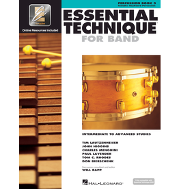 Hal Leonard Essential Technique Book 3 Percussion