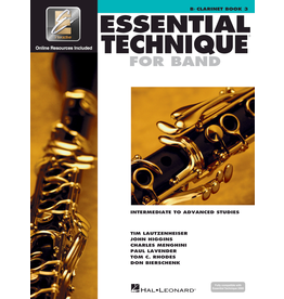 Hal Leonard Essential Technique Book 3 Clarinet