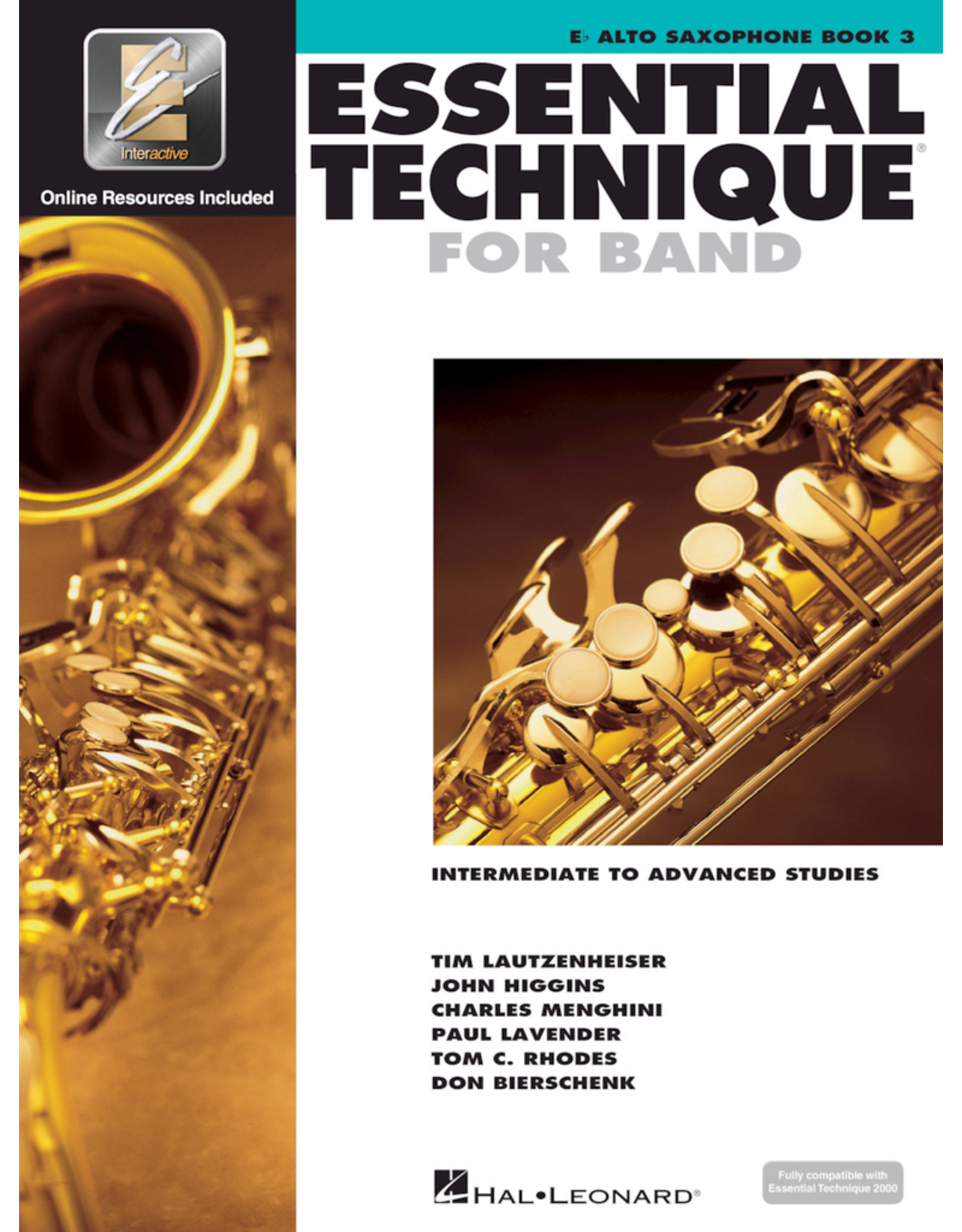 Hal Leonard Essential Technique Book 3 Alto Sax