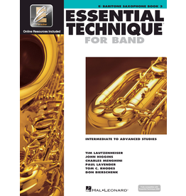 Hal Leonard Essential Technique Book 3 Baritone Sax