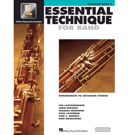 Hal Leonard Essential Technique Book 3 Bassoon