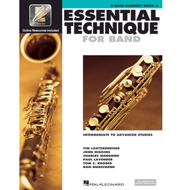 Hal Leonard Essential Technique Book 3 Bass Clarinet