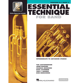 Hal Leonard Essential Technique Book 3 Baritone B.C.