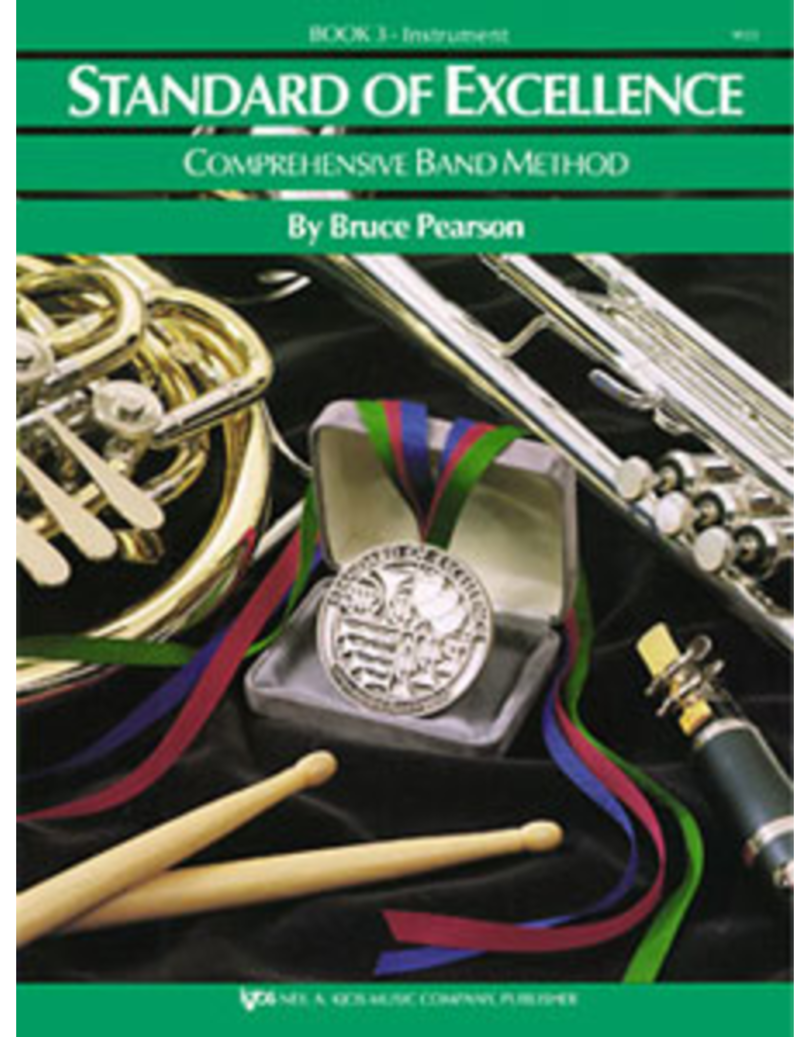 Kjos Standard of Excellence Book 3, Trombone