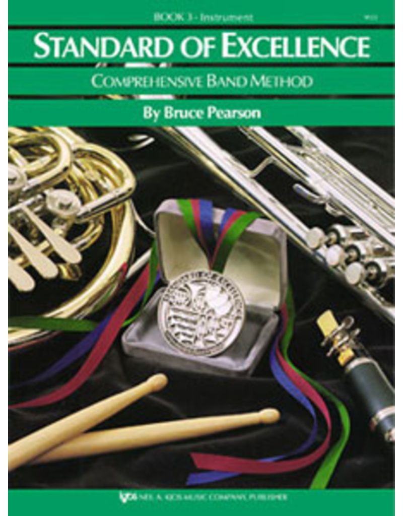 Kjos Standard of Excellence Book 3, Trombone