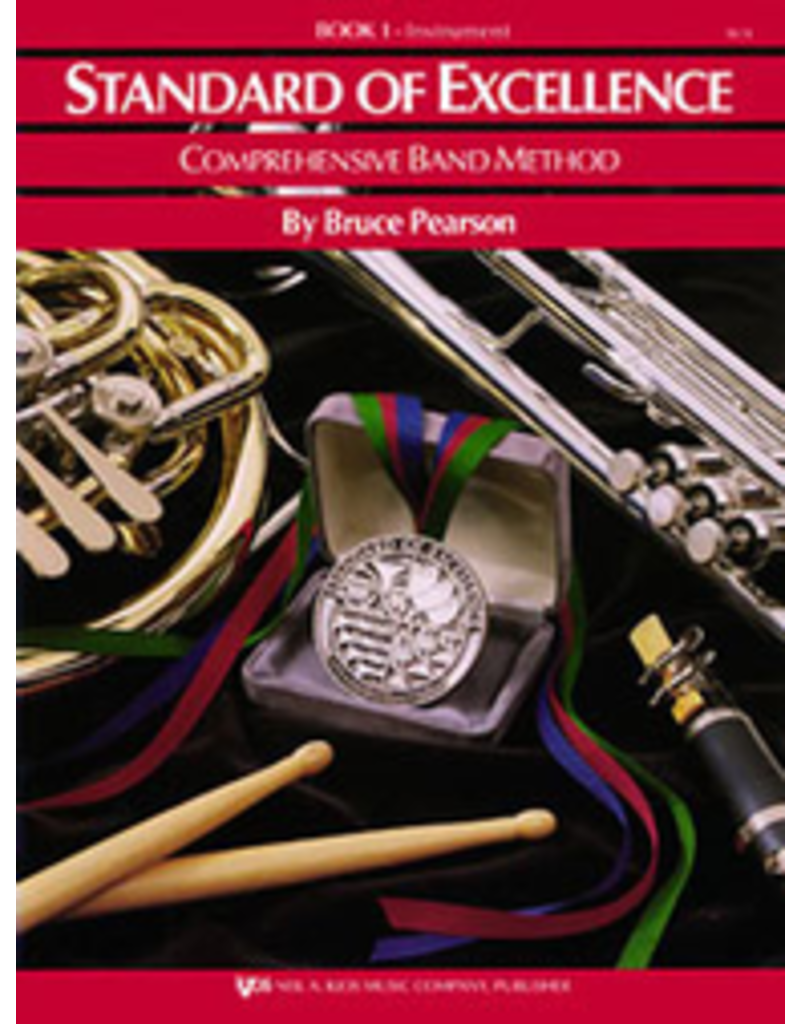 Kjos Standard of Excellence Book 1 Alto Sax