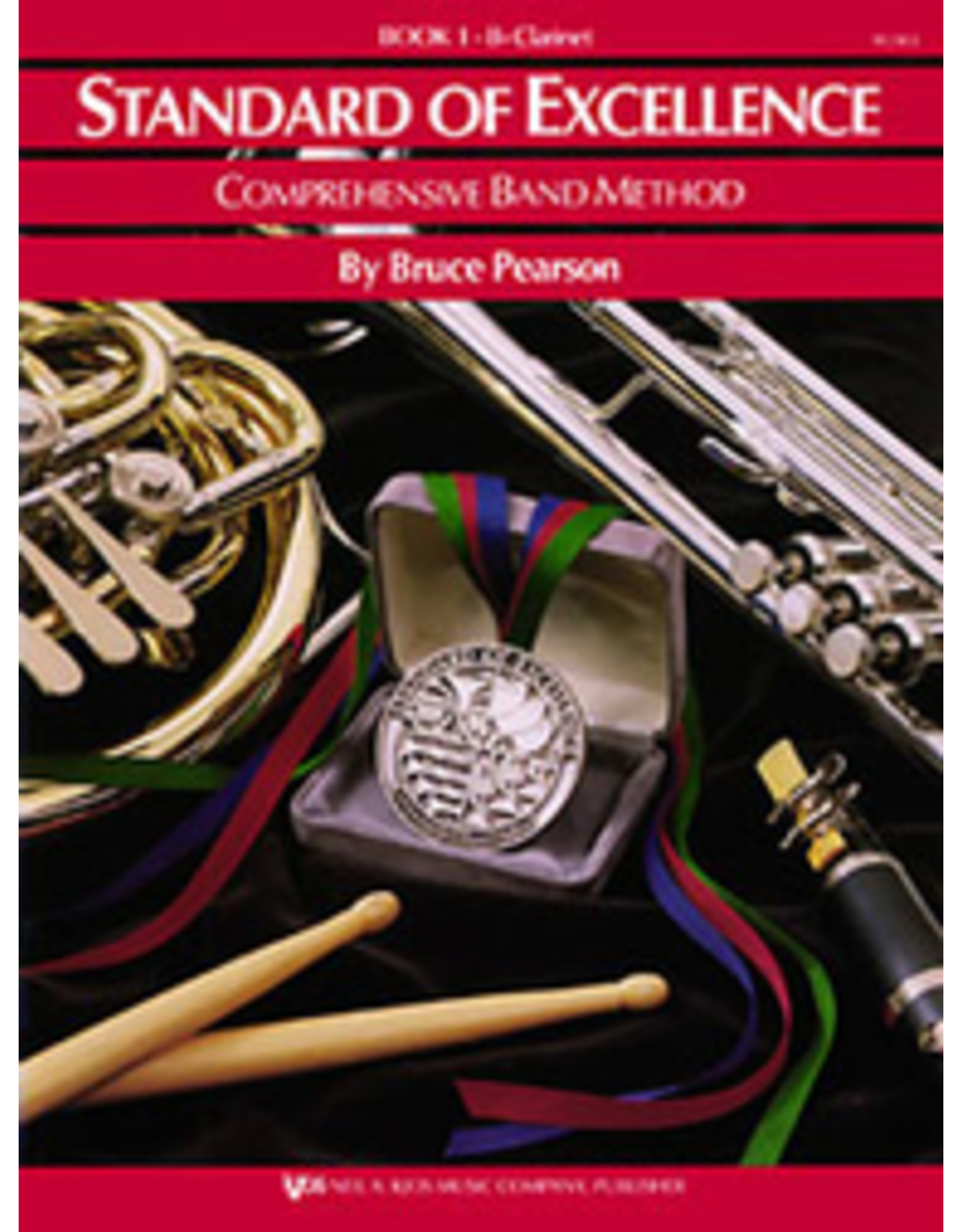 Kjos Standard of Excellence Book 1, Clarinet