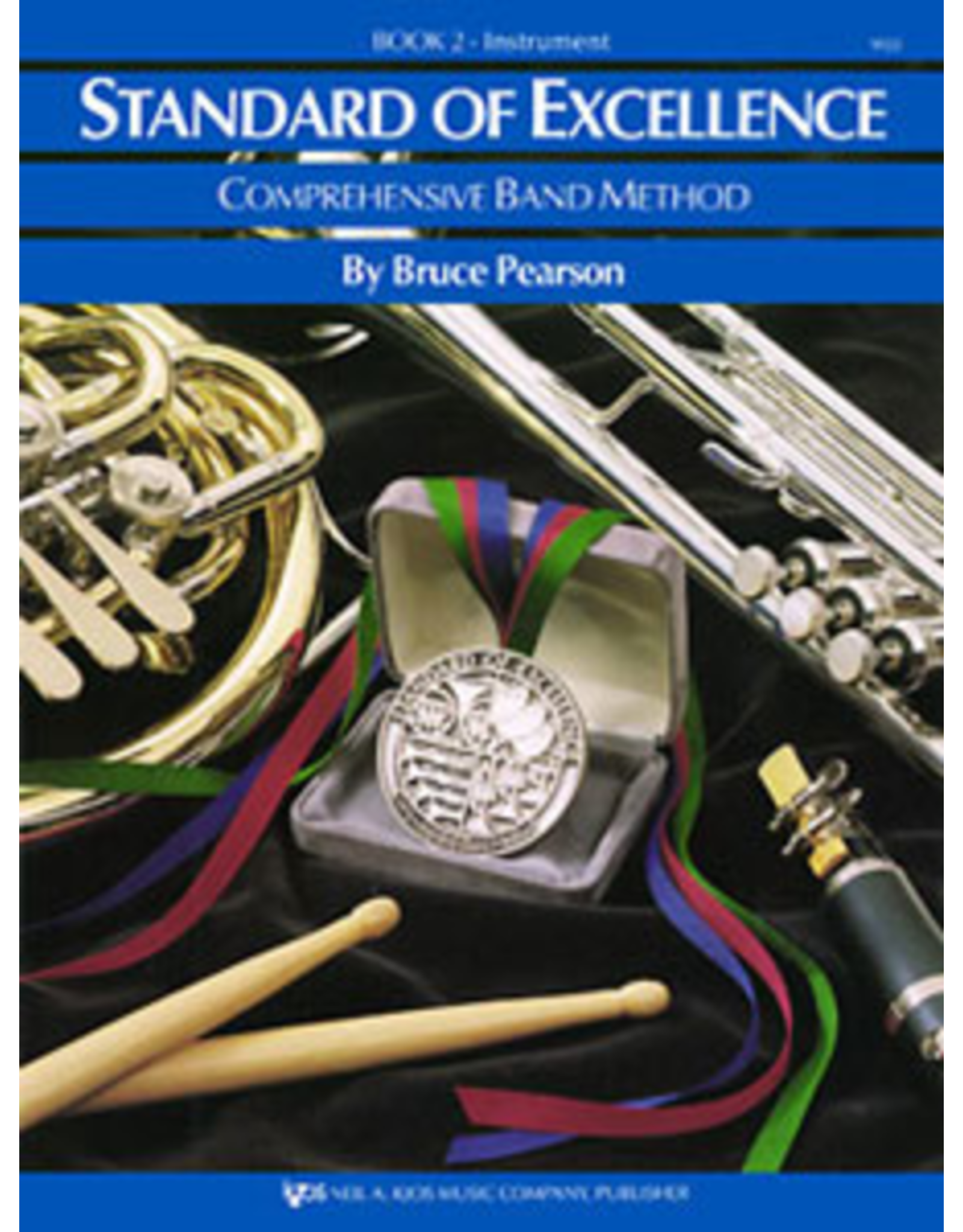 Kjos Standard of Excellence Book 2 Trombone