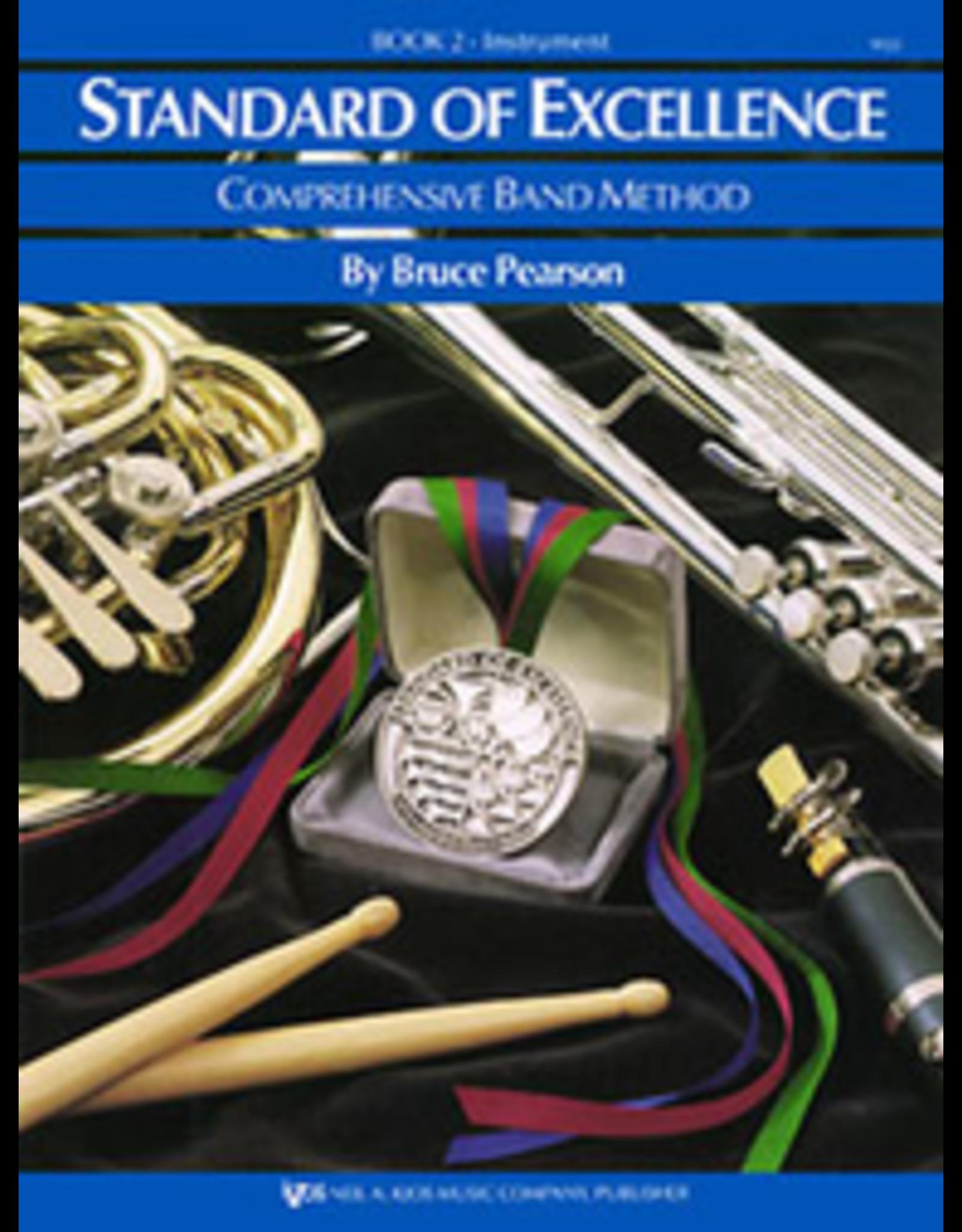 Kjos Standard of Excellence Book 2, Oboe