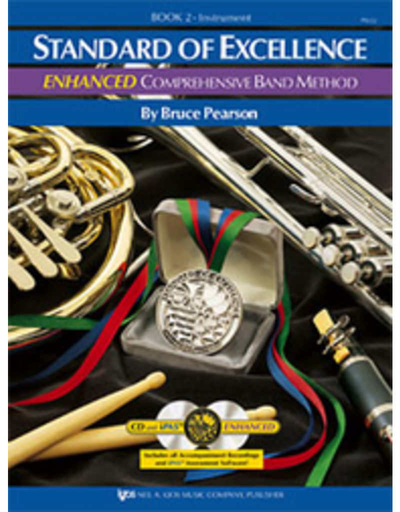 Kjos Standard Of Excellence Enhanced Book 2 Bass Clarinet