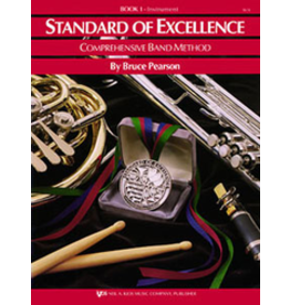 Kjos Standard of Excellence Book 1 Percussion