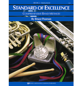 Kjos Standard of Excellence Book 2, Tuba