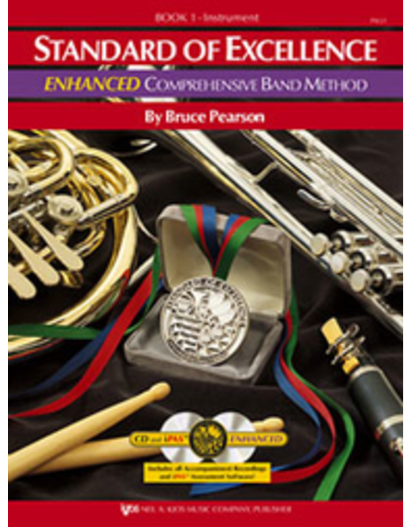 Kjos Standard of Excellence Enhanced Book 1 French Horn