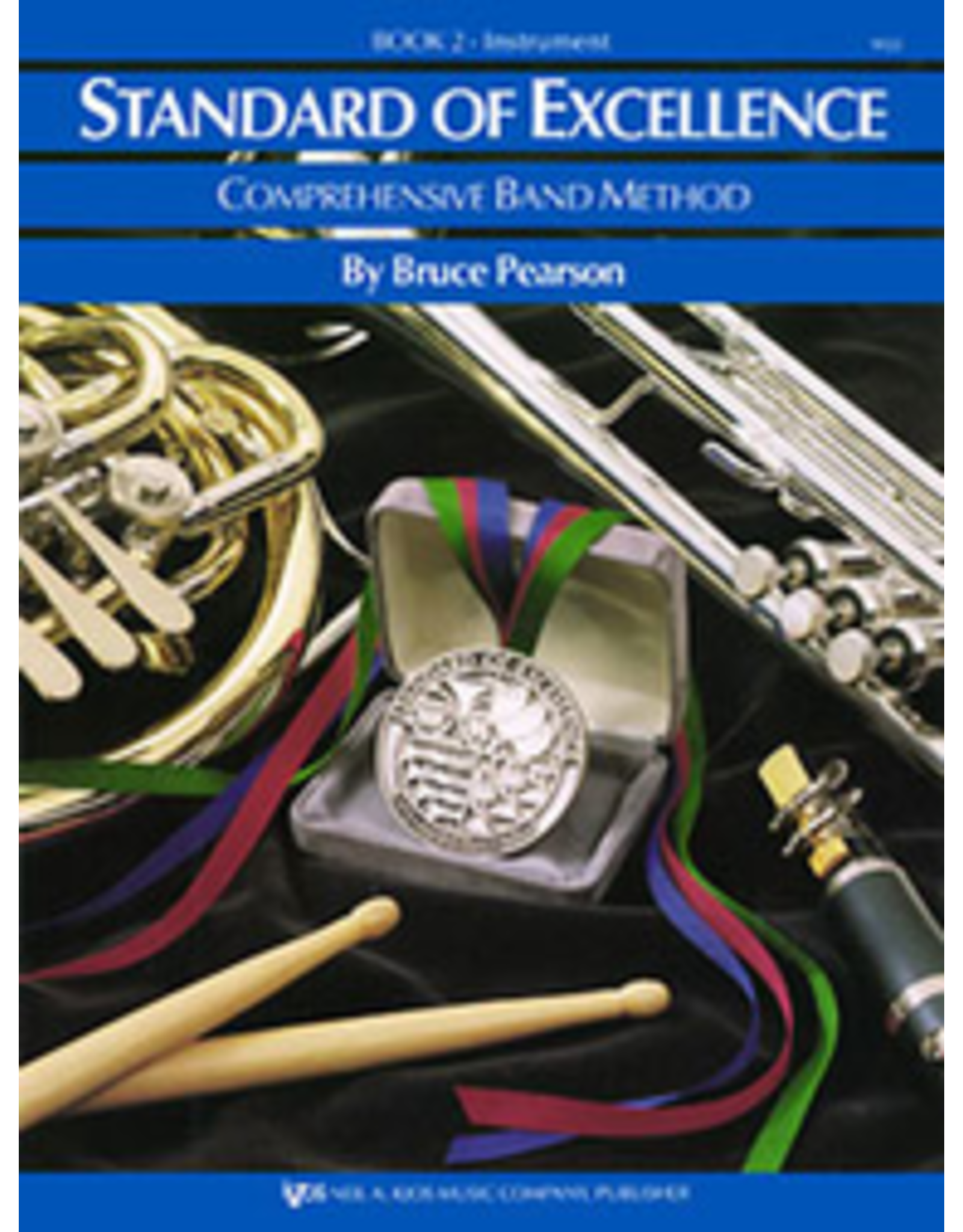 Kjos Standard of Excellence Book 2 Alto Clarinet.