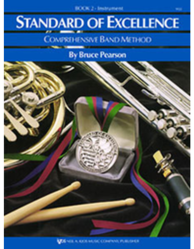 Kjos Standard of Excellence Book 2 Alto Clarinet.