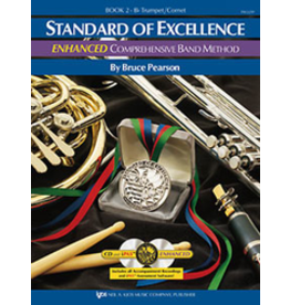 Kjos Standard of Excellence Enhanced Book 2, Tumpet/Cornet