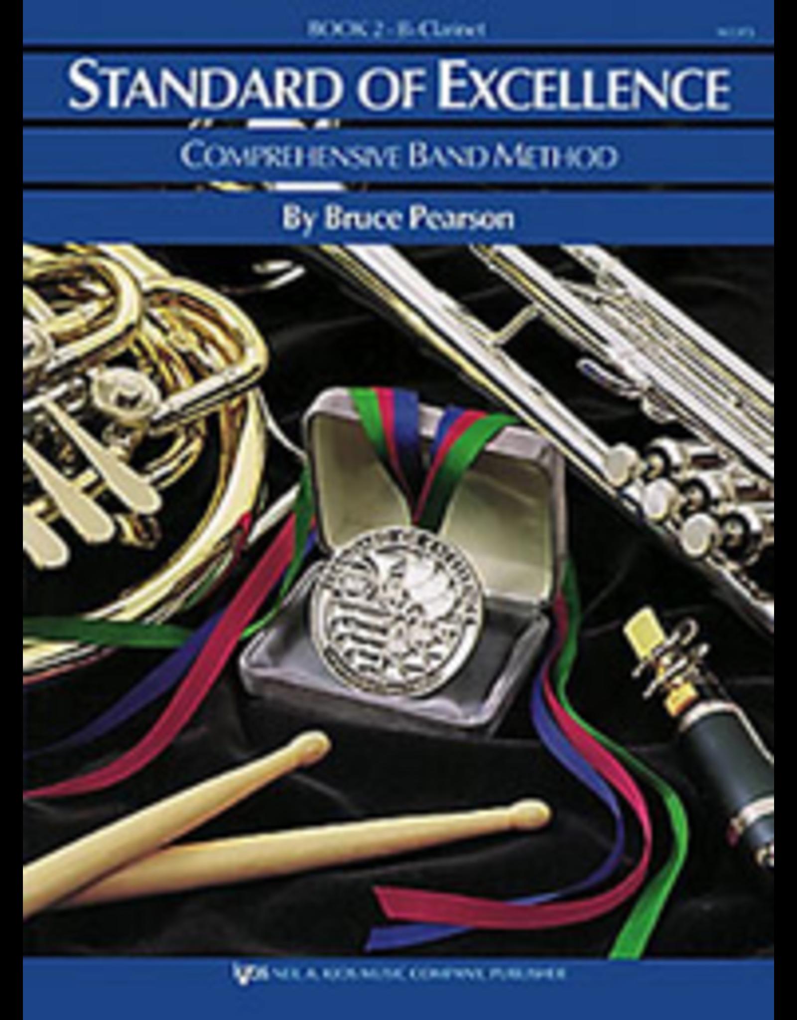 Kjos Standard of Excellence Book 2, Flute
