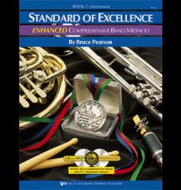 Kjos Standard of Excellence Enhanced Book 2 - Tuba