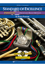 Kjos Standard of Excellence Enhanced Book 2, Flute