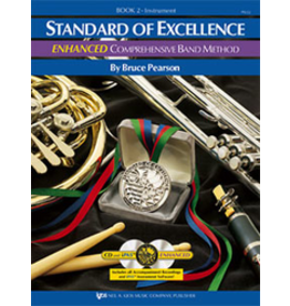 Kjos Standard of Excellence Enhanced Book 2, Flute