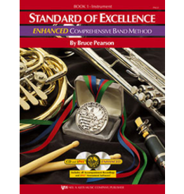 Kjos Standard of Excellence Enhanced Book 1, Flute