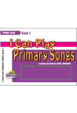 Jackman Music I Can Play Primary Songs Book 1 Primer Level