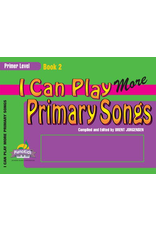 Jackman Music I Can Play More Primary Songs, Book 2 Primer Level