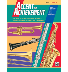 Alfred Accent on Achievement Book 3 with CD, Flute