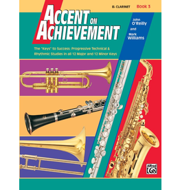 Alfred Accent on Achievement Book 3 Clarinet