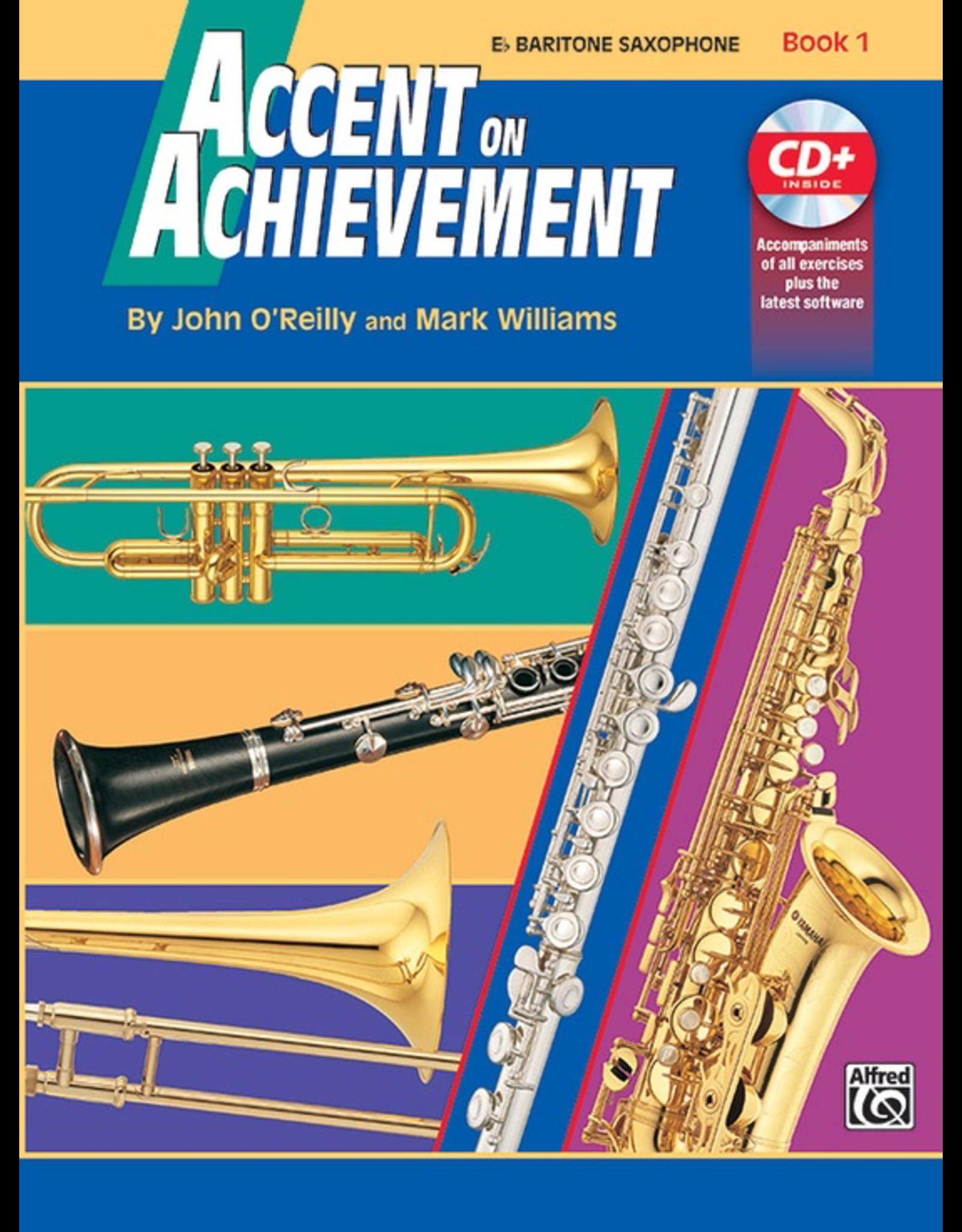 Alfred Accent on Achievement Book 1 Baritone Saxophone