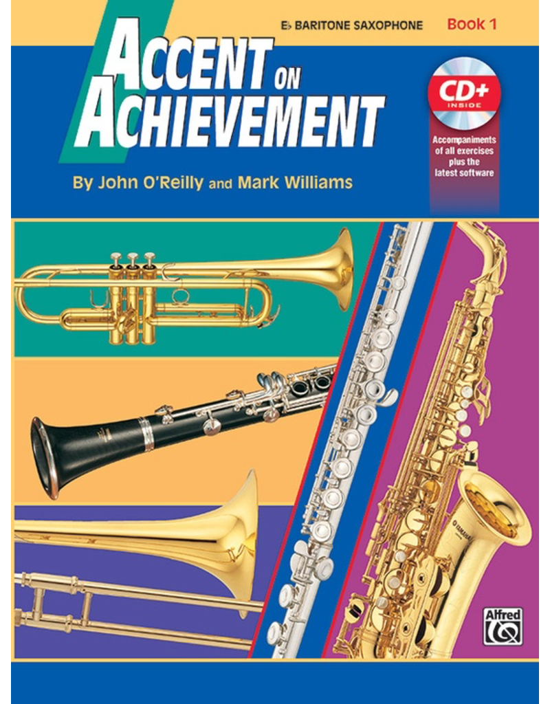 Alfred Accent on Achievement Book 1 Baritone Saxophone