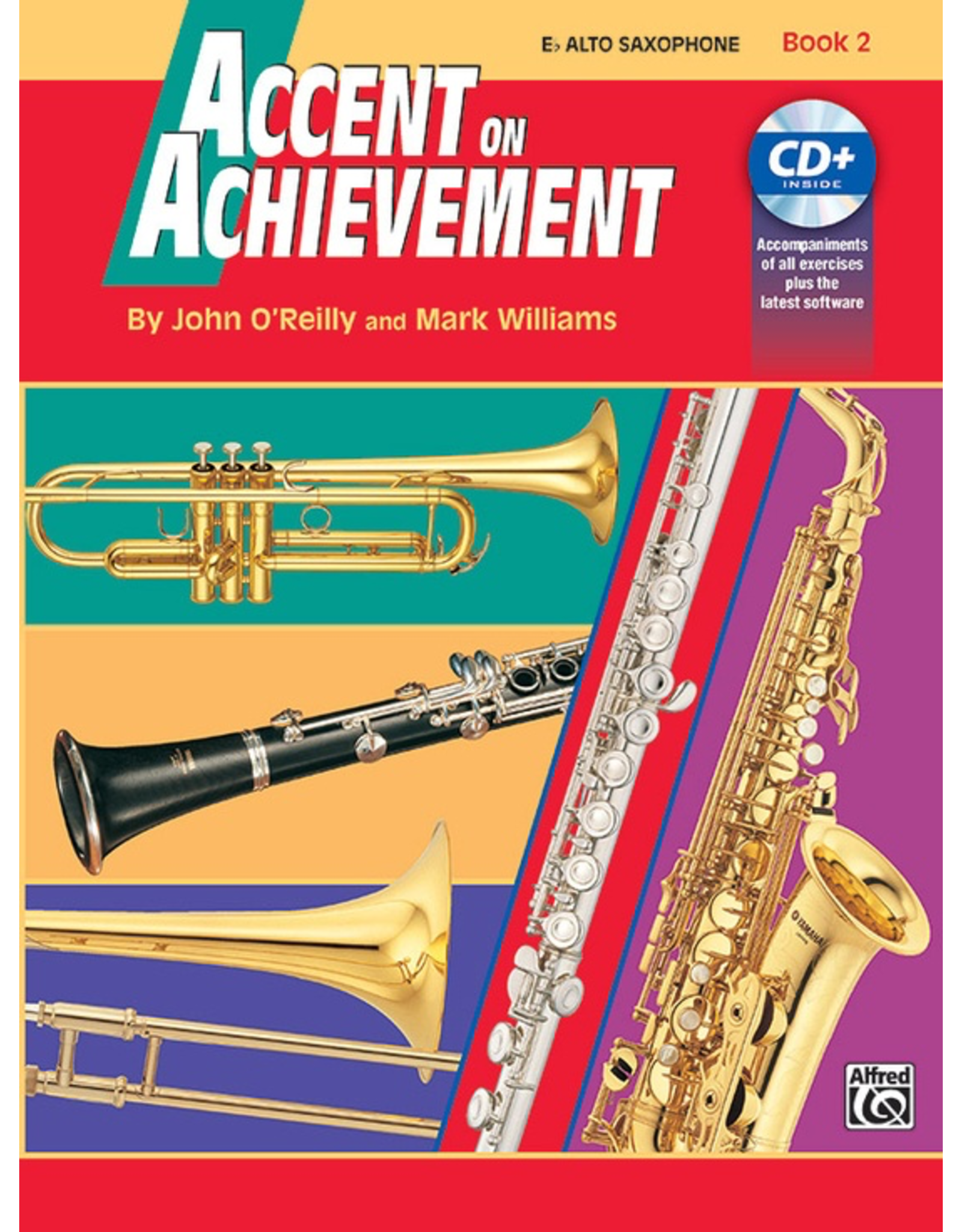 Alfred Accent on Achievement Book 2 with CD, Alto Sax