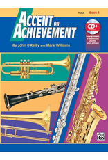 Alfred Accent on Achievement Book 1 with CD, Tuba