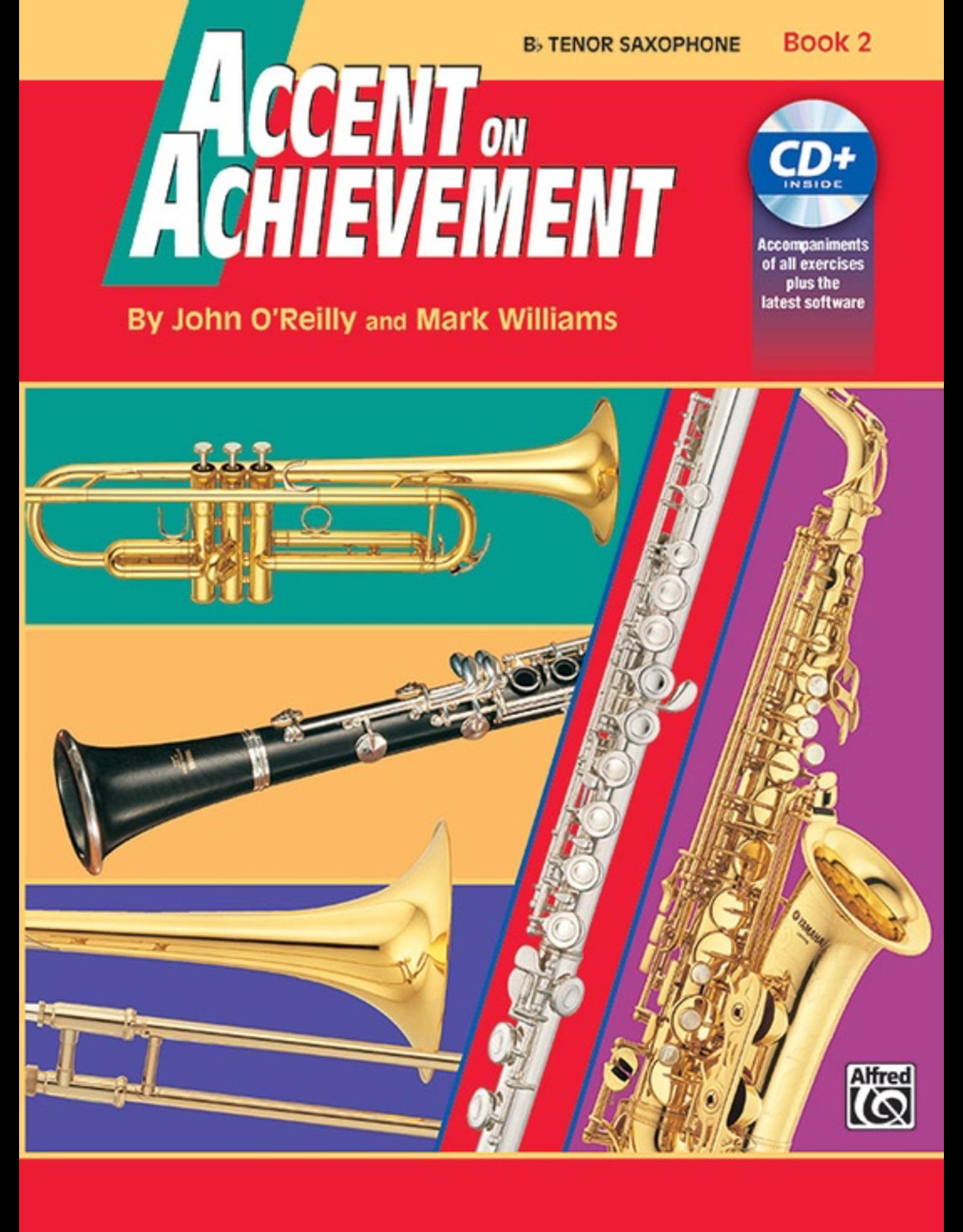 Alfred Accent on Achievement, Book 2 Tenor Sax