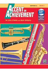 Alfred Accent on Achievement Book 2 with CD, Baritone B.C.