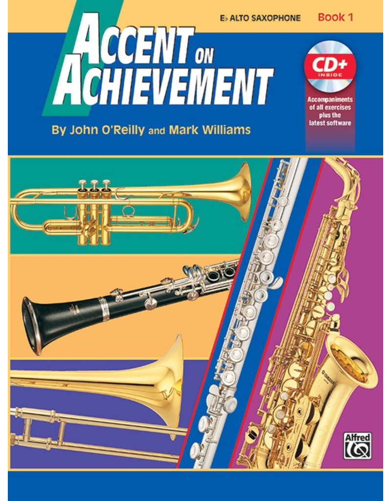Alfred Accent on Achievement Book 1 with CD, Alto Sax