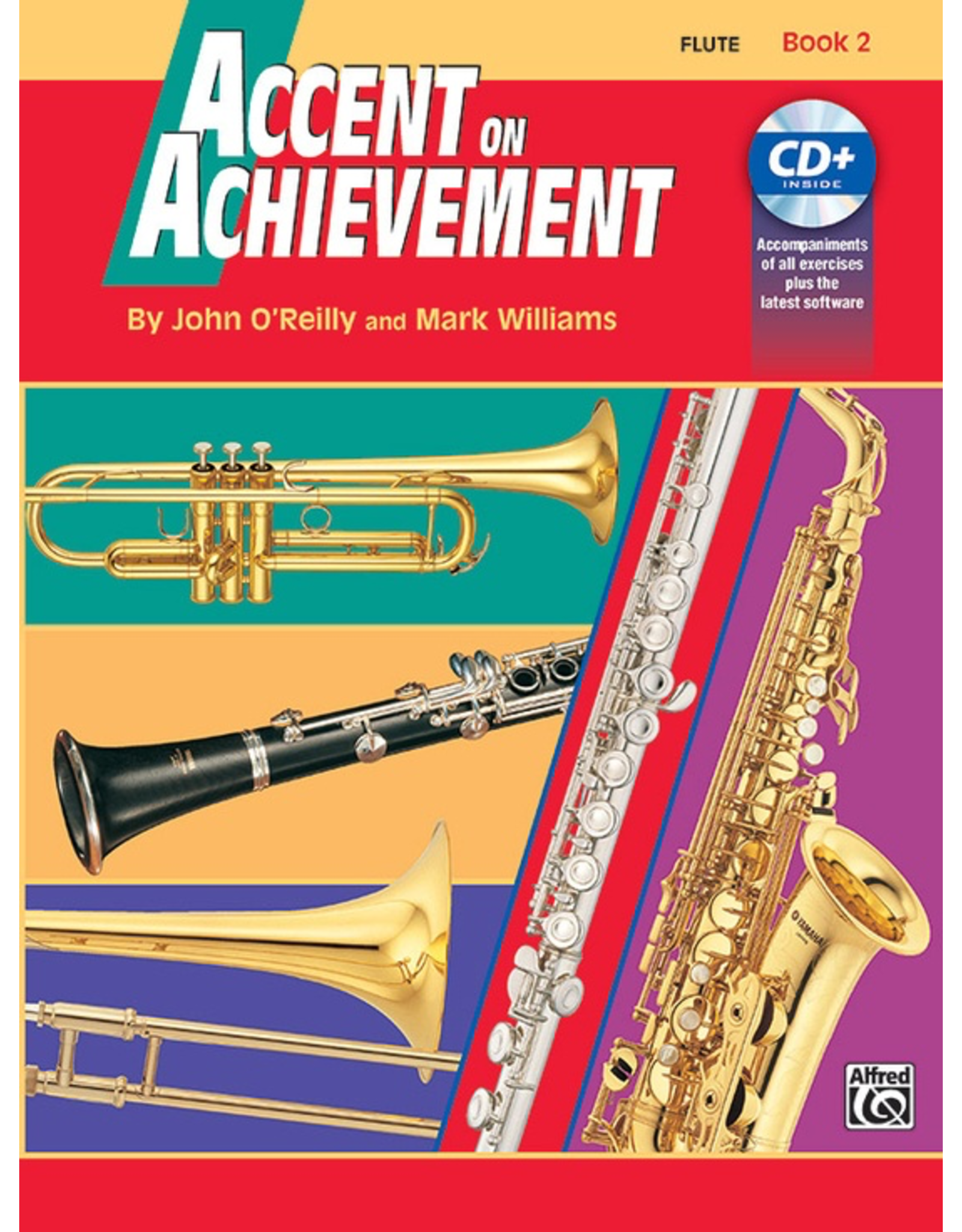 Alfred Accent on Achievement Book 2 with CD, Flute