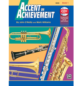 Alfred Accent on Achievement Book 1 with CD, Oboe