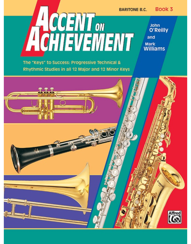 Alfred Accent on Achievement Book 3 with CD, Baritone B.C.