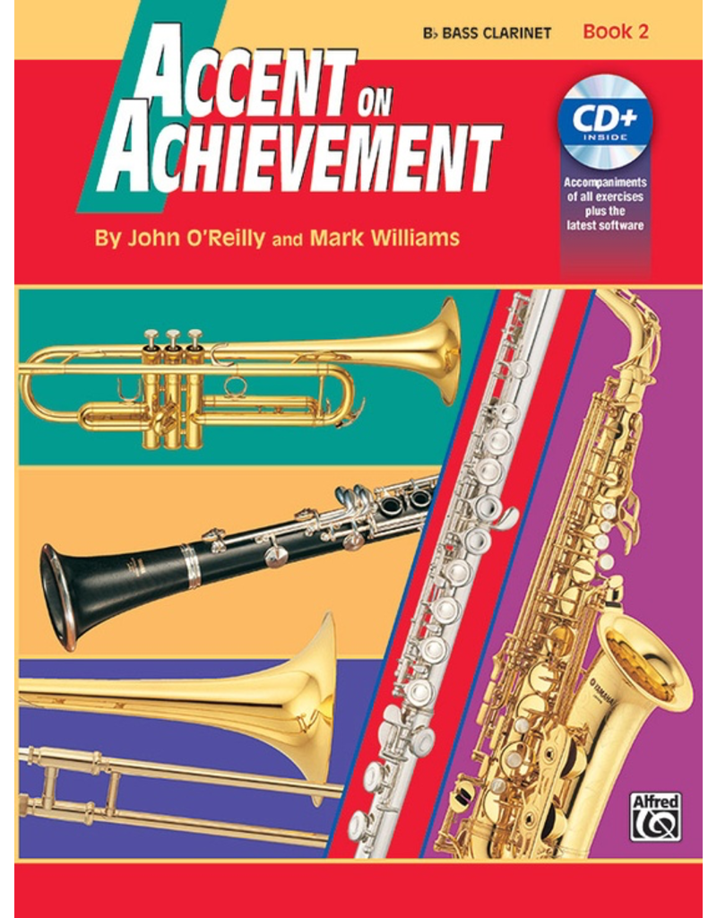 Alfred Accent on Achievement Book 2 Bass Clarinet