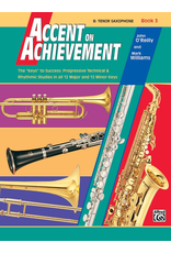 Alfred Accent on Achievement Book 3 with CD, Tenor Sax