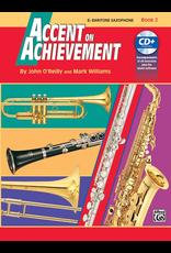 Alfred Accent on Achievement Book 2 for Bari Sax